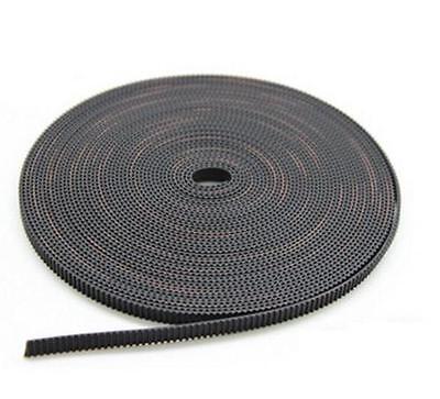 5m Reprap Gt2 Timing Belt 6mm Wide 2mm Pitch 2gt For 3d Printer Prusa Mendel New