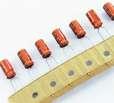 245 Assorted Radial Electrolytic Capacitors - Kit For Prototyping - Hobbyists