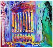 Leroy Neiman New York Stock Exchange