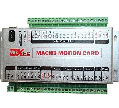 6-axis Motion Control Card Usb2.0 Interface Cnc Mach3 Usb Card Xhc-mk6