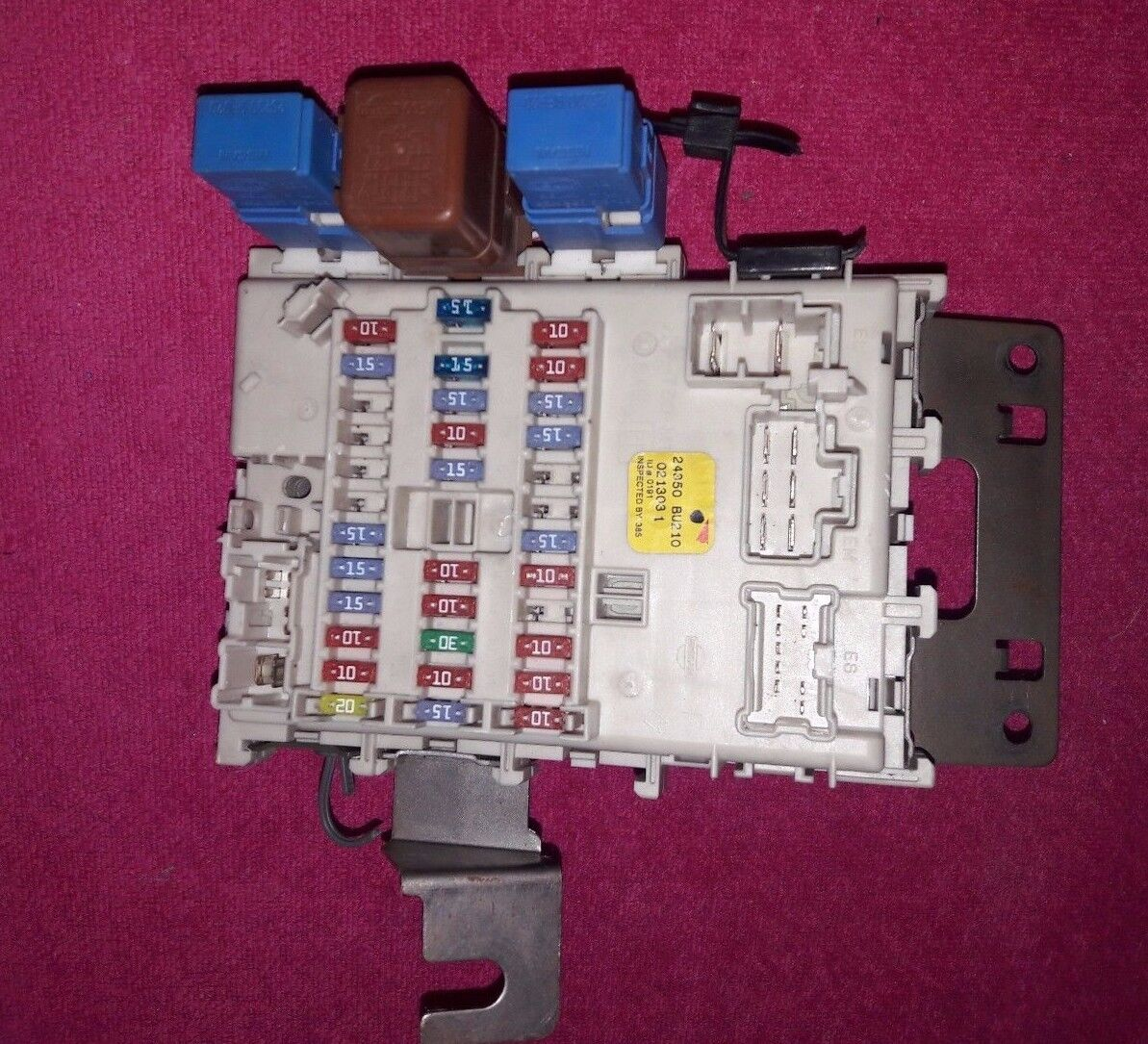 Used Nissan Controllers For Sale Page 14 Almera Fuse Box Bsm 24350bu210 Tino 18