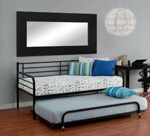 twin size metal bed frame