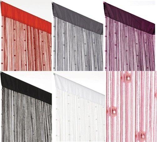 Perlen Fadenvorhang Helena  90x250cm Türvorhang Vorhang