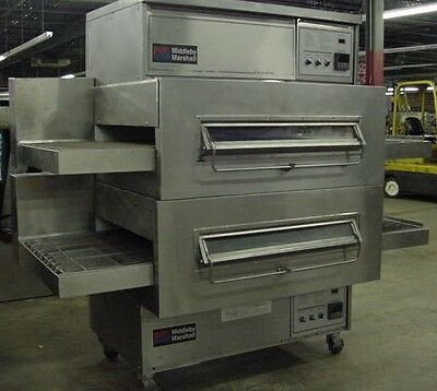 Middleby Marshall Ps360 Doublestack Gas Conveyor Pizza Ovens   Warranty Avail