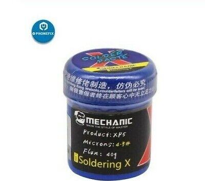 Mechanic Solder Paste Flux Xp5 Tin Flux Paste 40g 148 Mp Iphone Xrxs Max