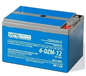 12V 12Ah 6-DZM-12 eBike Battery