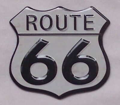 Route 66 Magnet Magnetschild aus USA geprägt und gestanzt