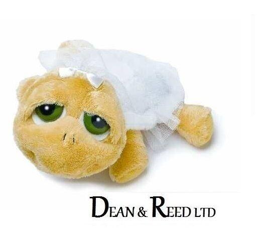 Lil/Li'l Peepers Medium 25.4 cm Bride Turtle Soft Toy Suki (Plush/Beanie)