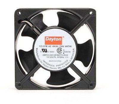 Dayton Axial Fan 115 Volts Ac 20 Watts 115 Cfm Model 4wt46