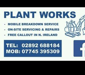 Mobile plant and agricultural mechanic service
