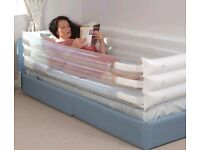 Brand New Genie Care Safesides Inflatable Bed surround