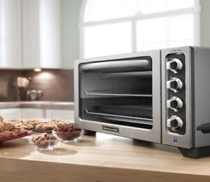 Stainless steel countertop convection oven