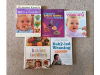 Collection of Baby Feeding and Weaning Recipe Books