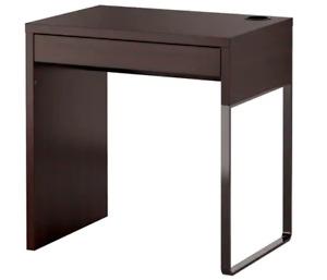 Selling MICKE Desk, black brown