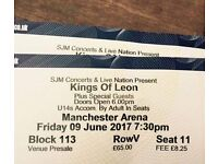 Kings of Leon x2 tickets