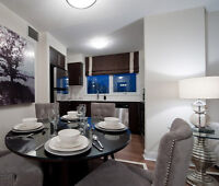 2 Bedroom, 2 Bath - Modern suite with upgrades! 19th flr. Oct 1!
