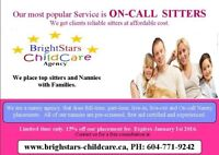 Nanny services Agency visit www.brightstars-childcare.ca