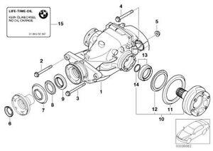 BMW M5 M6 LSD differential E60 E63 E64