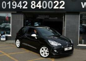 2010 10 CITROEN DS3 1.6 BLACK AND WHITE 3D 120 BHP SPECIAL EDITION HATCH,49-000M