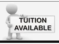 Computing, Mathematics, Business, Accounting : Tuition and Course work help Available