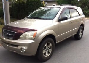 2004 Kia Sorento SUV 4WD All Power Low Kms New Brakes CERTIFIED