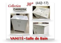 "(442-17)  VANITÉ 30""/Salle de Bain /Collection ""CARRERA""  379$"