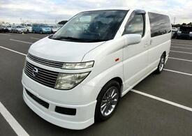 NISSAN ELGRAND 3.5 E51 AUTOMATIC VG 70TH S AERO KIT & ALLOYS * 8 SEATER