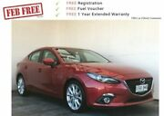 2016 Mazda 3 BM5238 SP25 SKYACTIV-Drive GT Soul Red 6 Speed Sports Automatic Sedan Mount Gambier Grant Area Preview