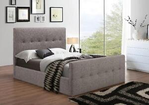 LINEN HIGH BED FRAME FROM 329$