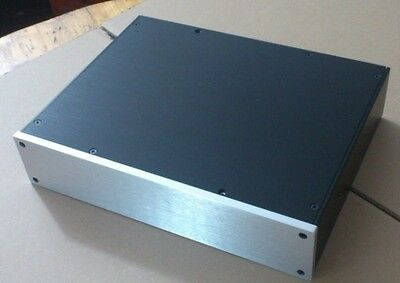 New S 3207 Aluminum Amplifier Case   Enclosure  Amplifier Box  Psu Case