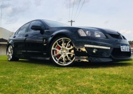 2011 Holden Special Vehicles Clubsport E3 R8 Black 6 Speed Manual Sedan