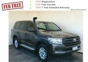 2016 Toyota Landcruiser VDJ200R GX Graphite 6 Speed Sports Automatic Wagon Mount Gambier Grant Area Preview