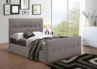COMES IN 3 COLOURS QUEENSIZE BED NO BOX SPRINGRE QUIRED $399