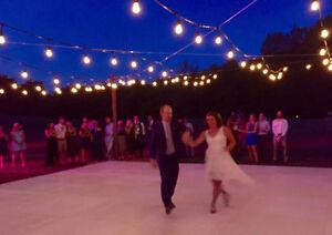 For Rent! Event (wedding) string globe lights (white)