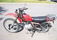 Wanted Honda xl500 street and trail