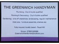 The Greenwich Handyman - Gardening