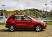 2013 Volkswagen Tiguan 5N MY14 132TSI DSG 4MOTION Pacific Red 7 Speed Sports Automatic Dual Clutch Mount Barker Mount Barker Area Preview