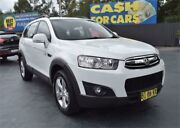 2011 Holden Captiva CG Series II 7 CX White Sports Automatic Wagon Campbelltown Campbelltown Area Preview
