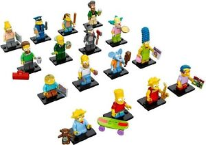LEGO Simpsons Collectable Minifigures Series 1 & 2