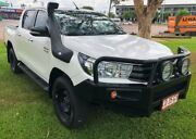 2016 Toyota Hilux GUN126R SR Double Cab White 6 Speed Sports Automatic Utility Berrimah Darwin City Preview