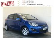 2014 Hyundai i20 PB MY14 Active Blue 4 Speed Automatic Hatchback Mount Gambier Grant Area Preview