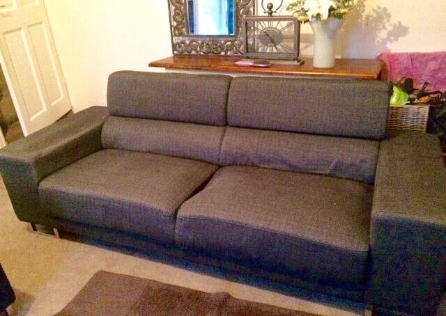 Large 3/4 Seater, style is modern REDUCED
