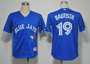 Blue Jose Bautista Toronto Blue Jays Jersey. Brand New In Tags.