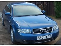 Audi B6 A4 Saloon 1.8T One Previous Owner 86k miles