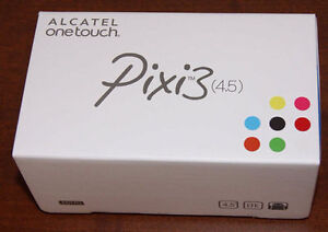 Brand new in box Alcatel one touch Pixi3 Andriod Phone 4G Quad