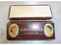 Vintage hohner band harmonica