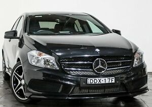2013 Mercedes-Benz A200 W176 D-CT Black 7 Speed Sports Automatic Dual Clutch Hatchback Rozelle Leichhardt Area Preview