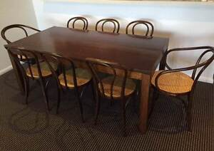 Thonet Dining Table and Chairs set Rhodes Canada Bay Area Preview