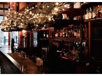 Full and Part time bar staff required for West end pub
