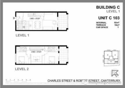 Sydney Canterbury three bedroom area, two room prices